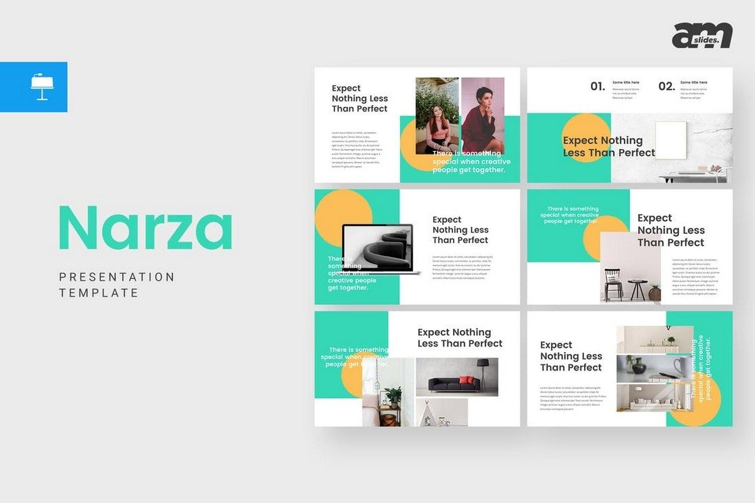 Narza - Creative Keynote Template