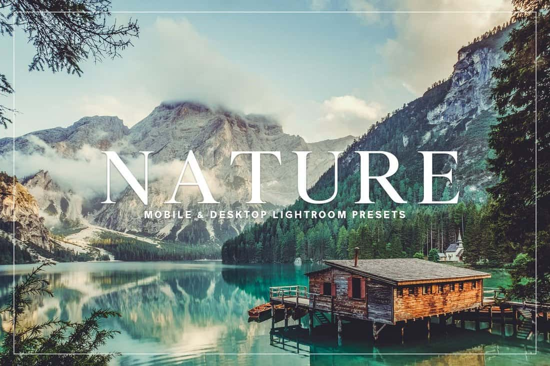 Nature - Landscape Lightroom Presets Collection