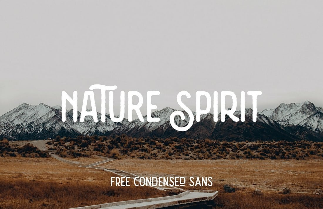 Nature-Spirit-Free-Vintage-Font 60+ Best Free Fonts for Designers 2019 (Serif, Script & Sans Serif) design tips