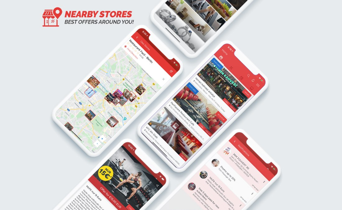 NearbyStores - eCommerce iOS App Template