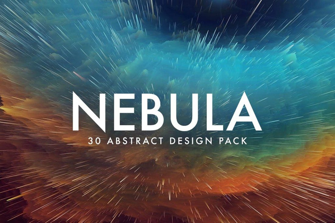 Nebula-30-Abstract-Design-Pack 35+ Best Space & Galaxy Background Textures design tips