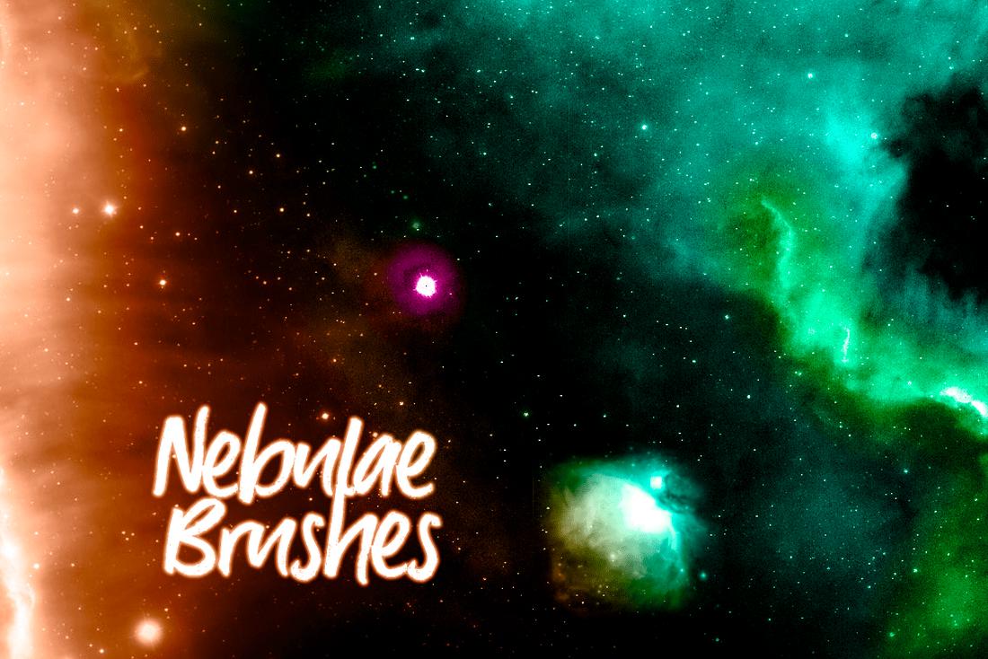 Nebulae Photoshop Brushes