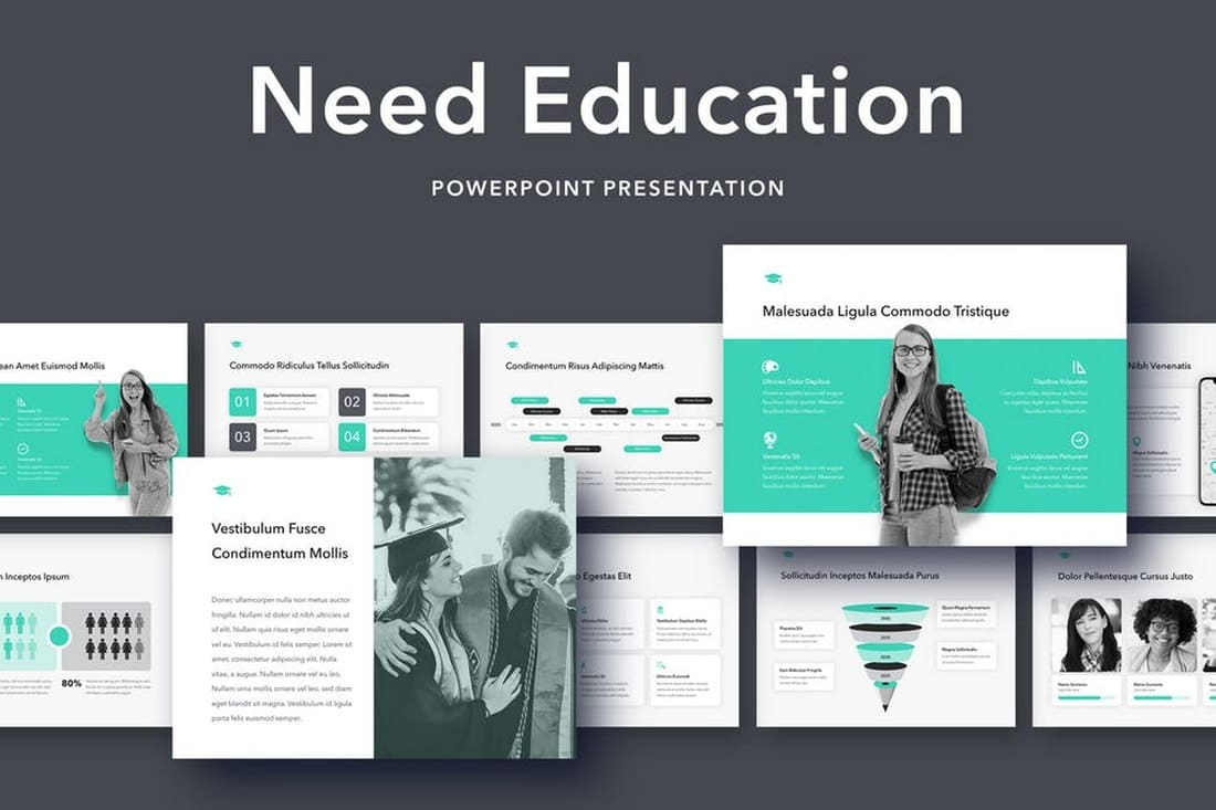 Need Education - Modern PowerPoint Template