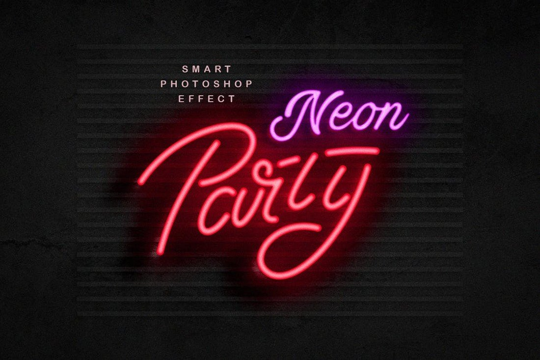 Neon-Sign-Effect-Photoshop-Layer-Style 20+ Best Photoshop Layer Styles in 2021 (Free & Premium) design tips