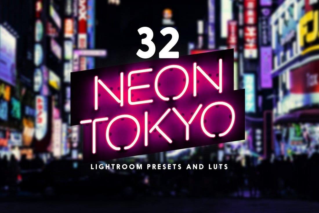 Neon Tokyo - 32 Lightroom Presets