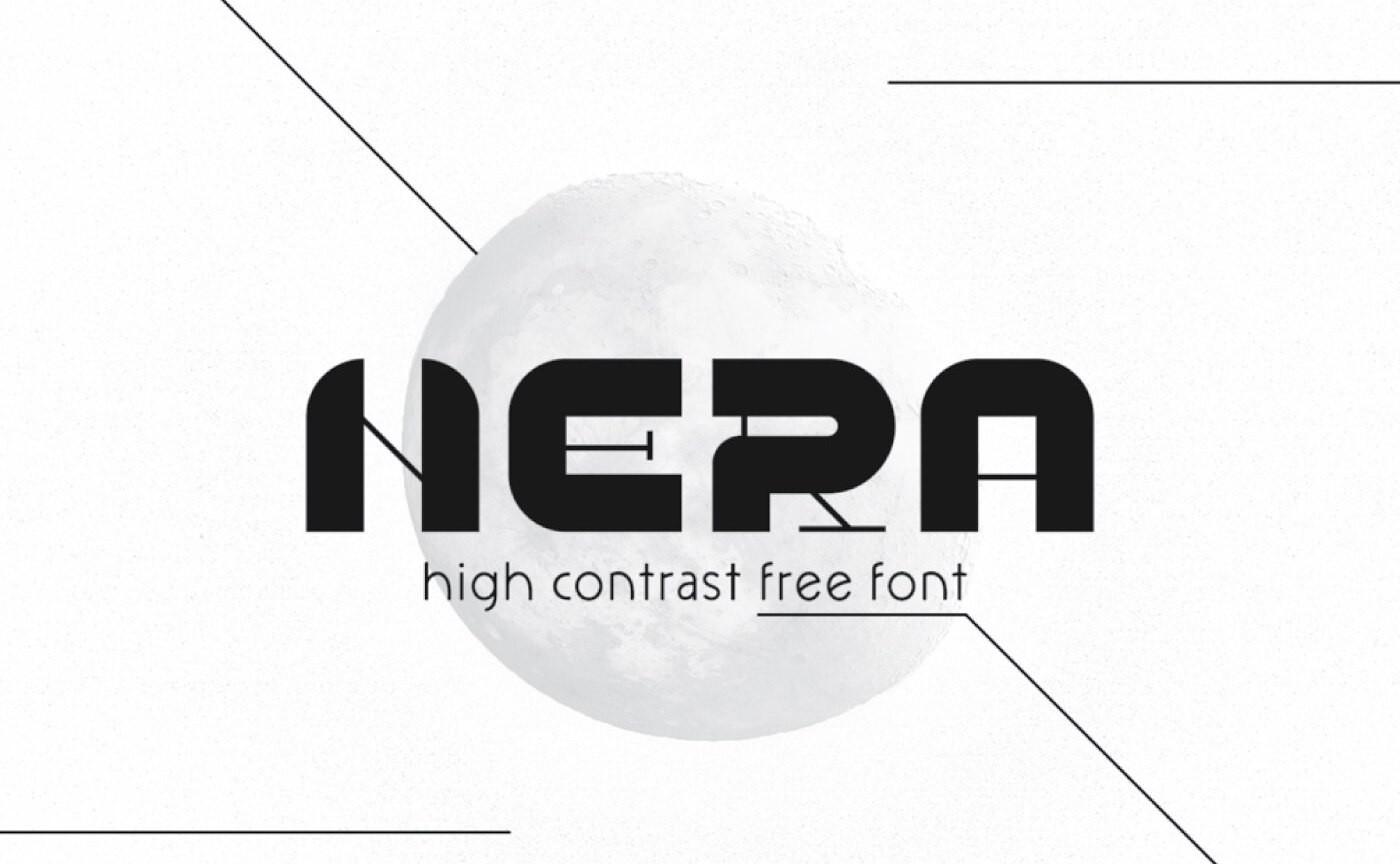 Nera - Modern Geometric Font
