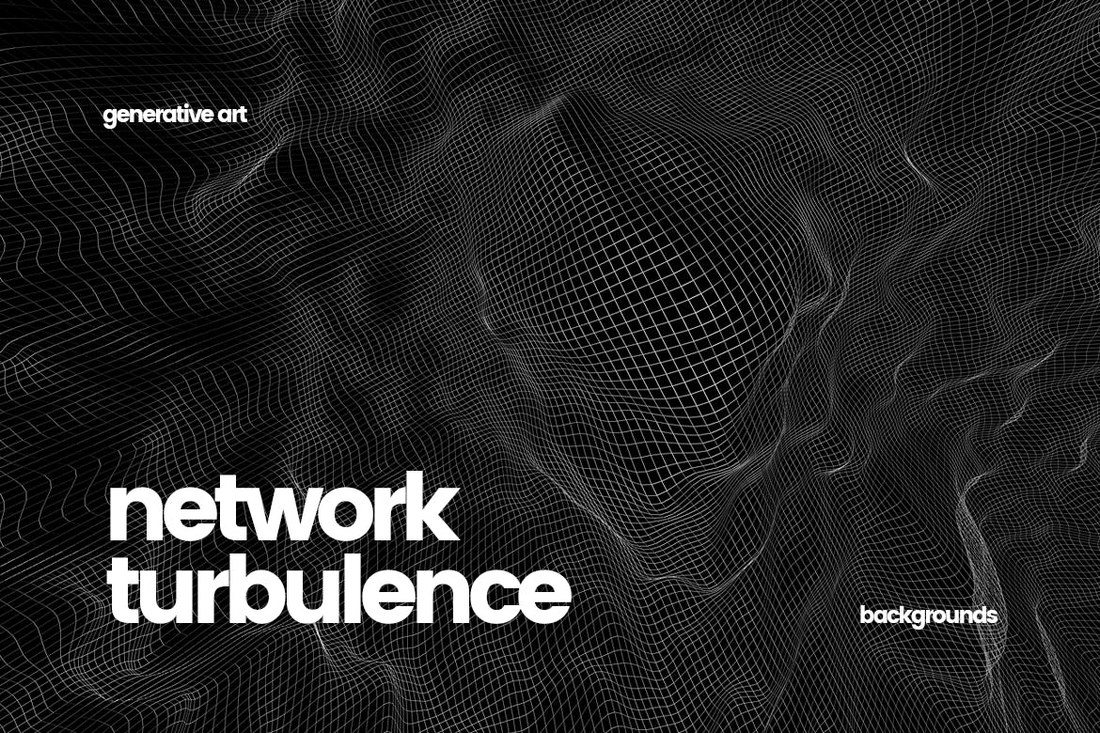 Network-Turbulence-Backgrounds 30+ Best Subtle Black & White Background Textures design tips