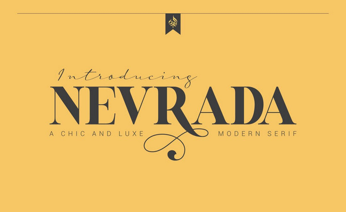 Nevrada - Free Font for Signs