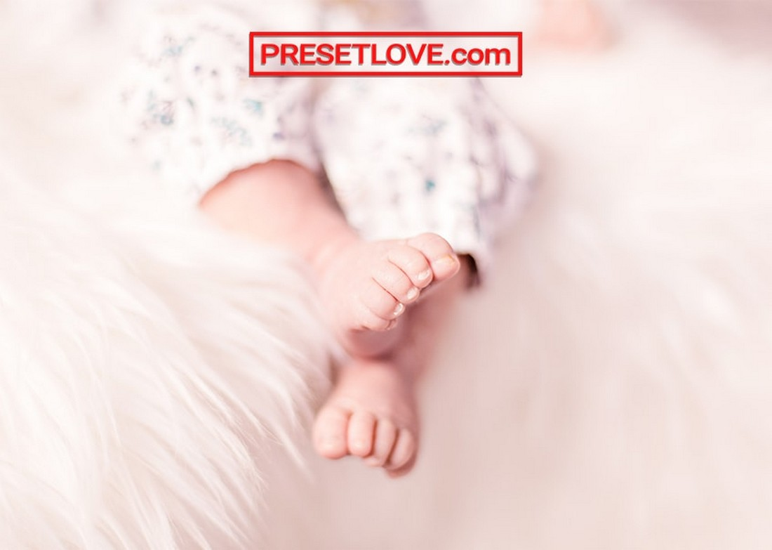 New Life - Free Newborn Lightroom Preset