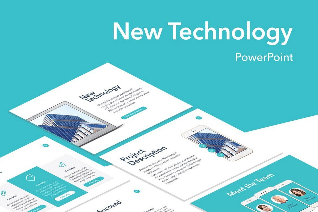 New Technology PowerPoint Template