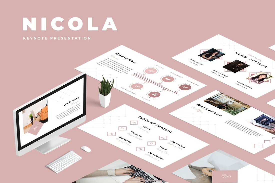 Nicola-Keynote-Presentation 30+ Best Minimal & Creative Keynote Templates design tips