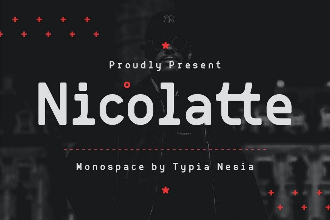 Nicolatte 10+ Professional Monospaced Fonts for Designers design tips