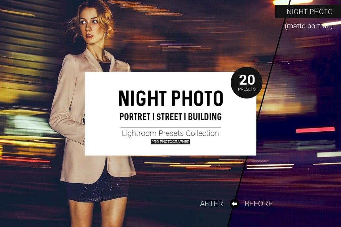 Night-Photo-Lightroom-Presets-1 20+ Best Lightroom Presets for Portraits design tips