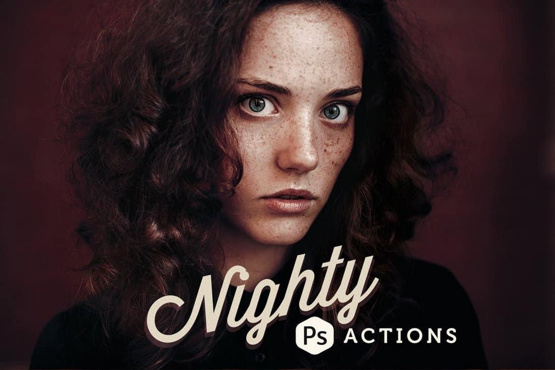 Nighty - Creative Photoshop Actions