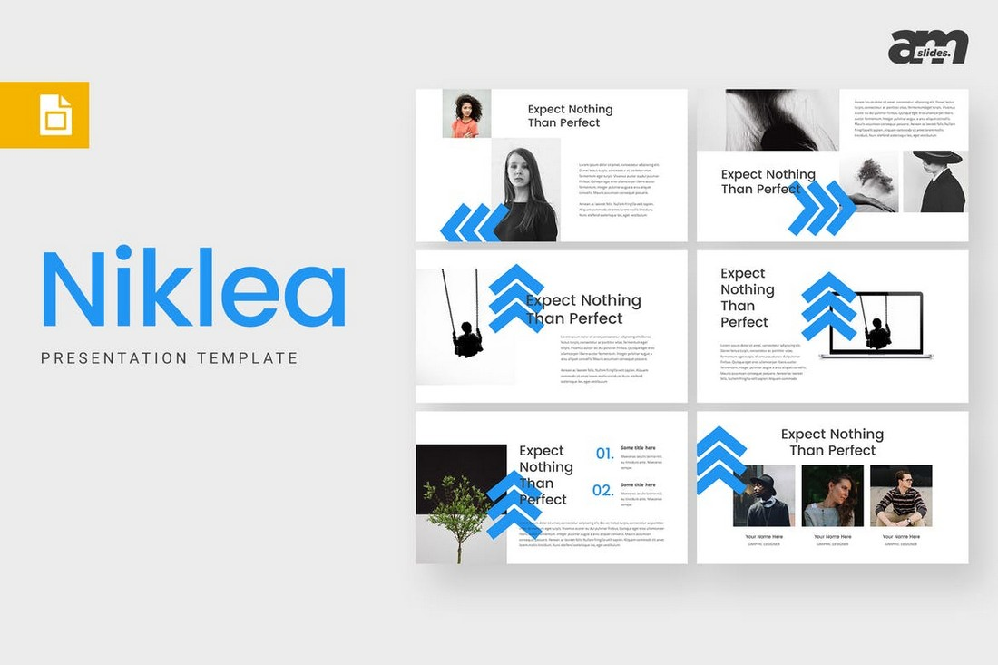 Niklea - Clean Google Slides Template