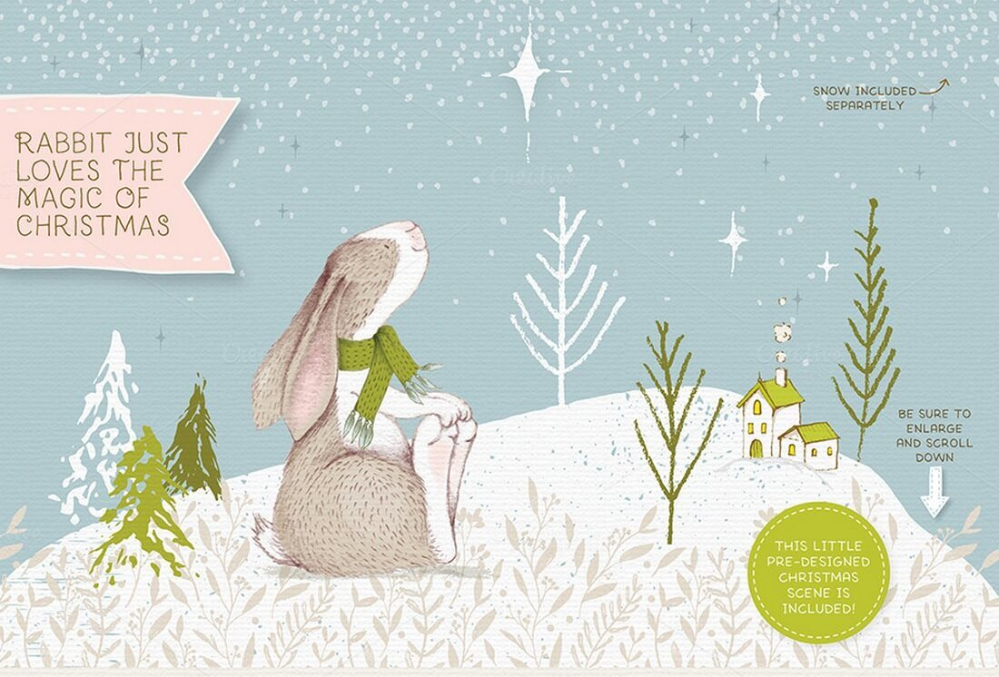 No%C3%ABl-Christmas-Collection 70+ Christmas Mockups, Icons, Graphics & Resources design tips