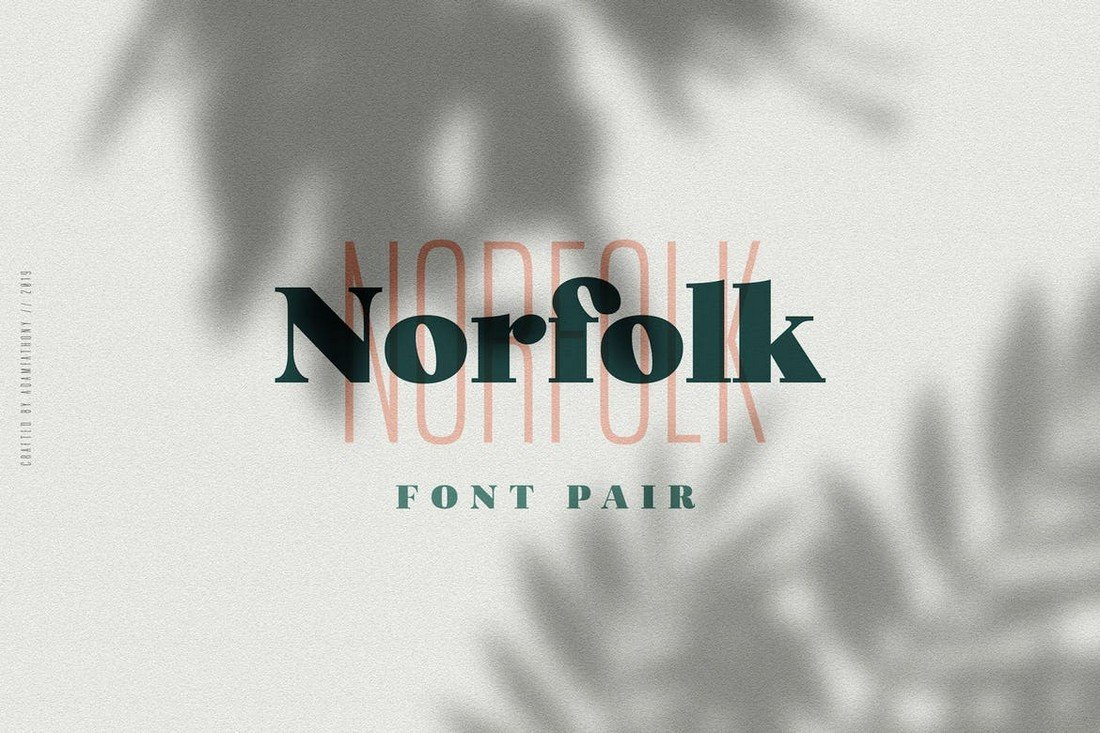 Norfolk-Creative-Font-Pair 50+ Best Condensed & Narrow Fonts of 2020 design tips