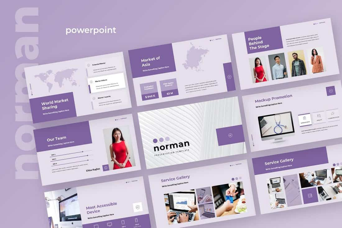 Norman - Business Powerpoint Presentation