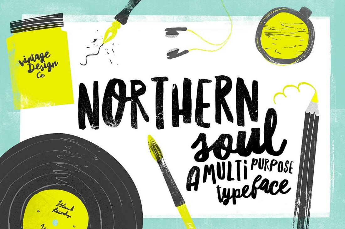 Northern-Soul 100+ Beautiful Script, Brush & Calligraphy Fonts design tips