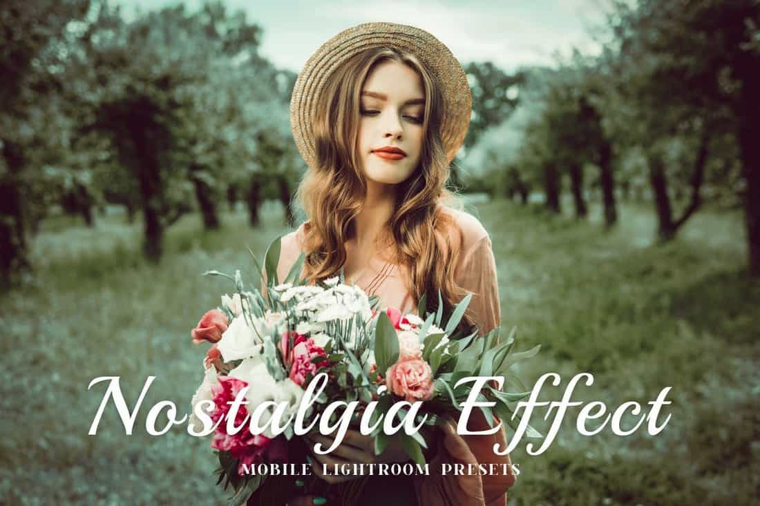 Presets de Nostalgia Mobile y Desktop Lightroom