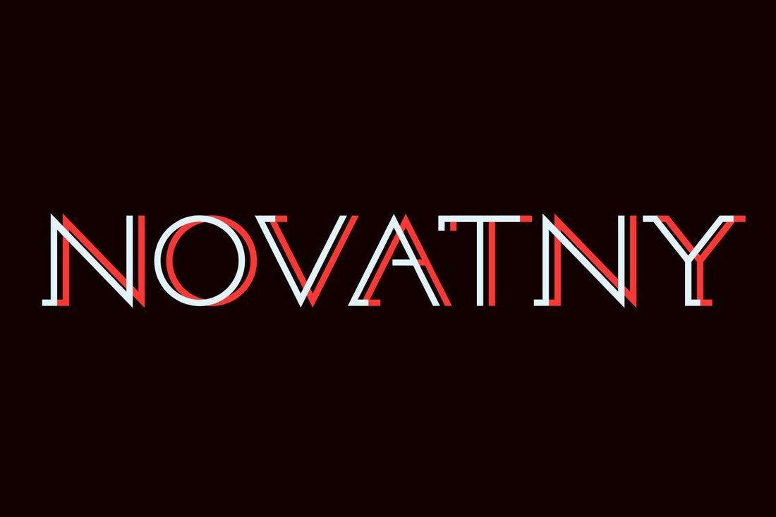 Novatny 30+ Best Modern & Futuristic Fonts 2021 design tips