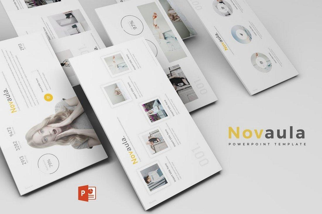Novaula-Powerpoint-Template 30+ Best Minimal PowerPoint Templates 2019 design tips
