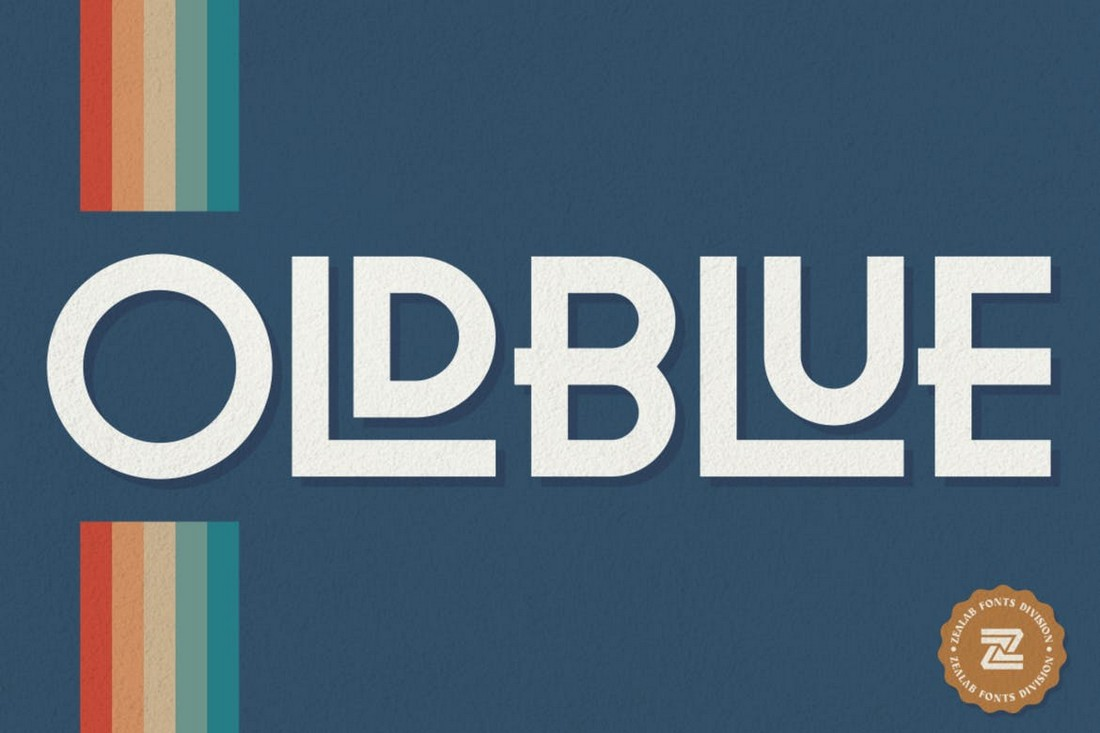 OLDBLUE - Playful Decorative Font