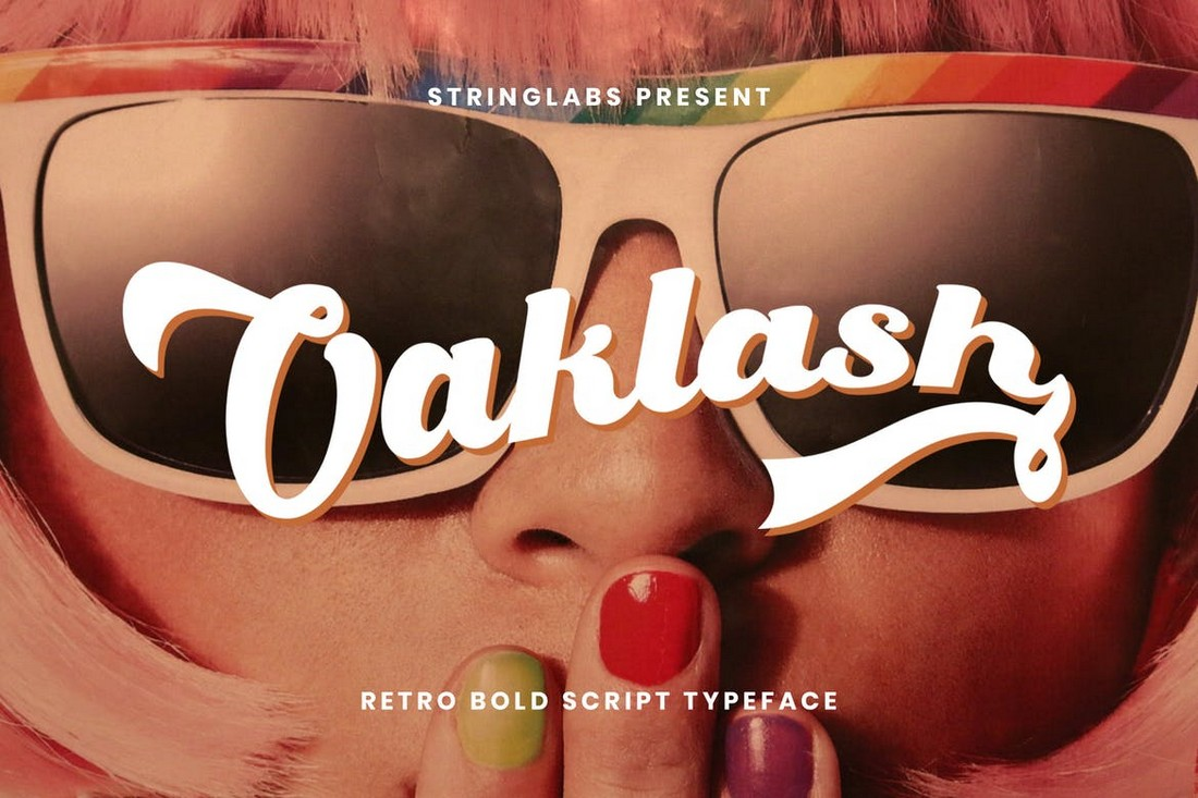 Oaklash-Retro-Bold-Script-Font 25+ Best Retro Fonts in 2021 (Free & Premium) design tips