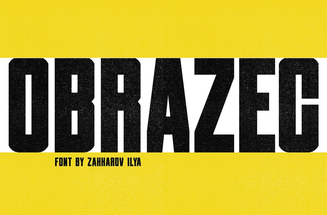 Obrazec-Free-Industrial-Poster-Font 30+ Best Fonts for Posters design tips