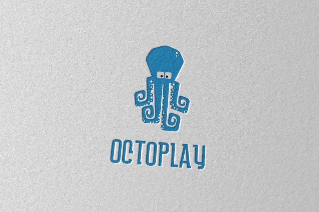 Octoplay 50+ Best Minimal Logo Design Templates design tips