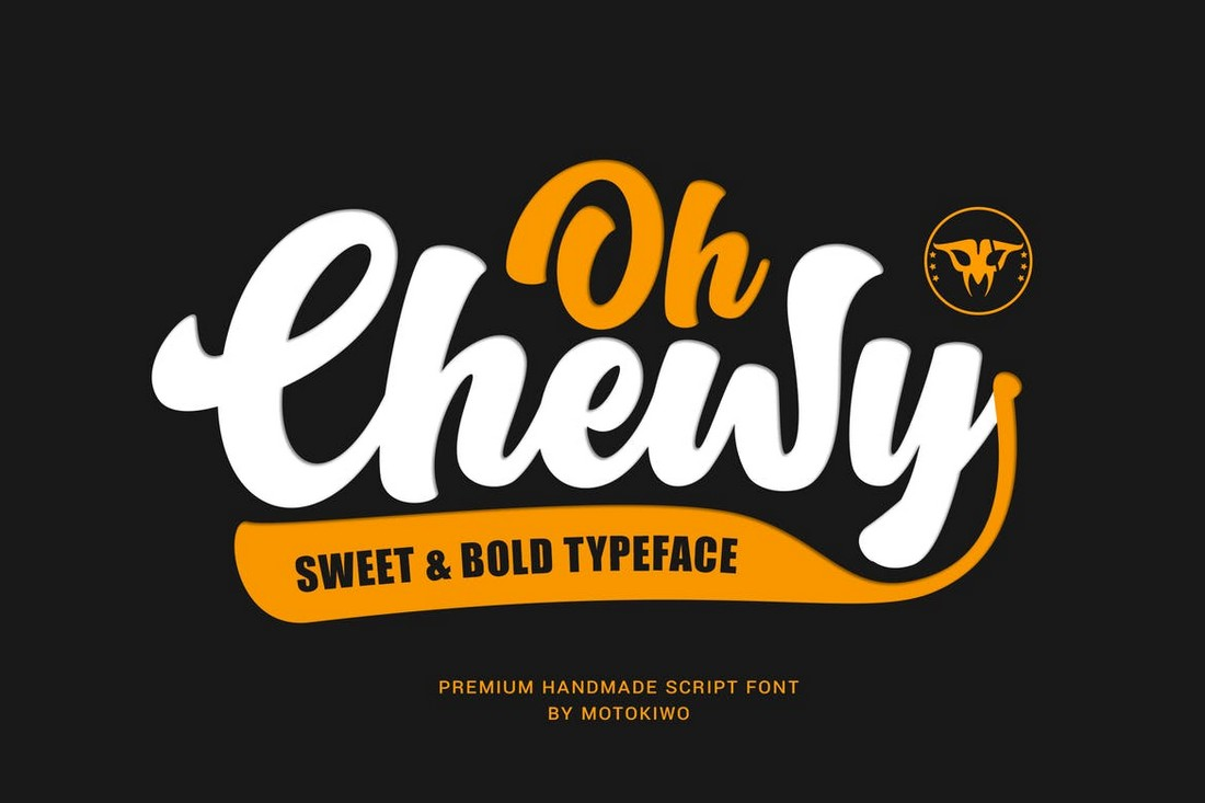 Oh Chewy - Bold Script Font