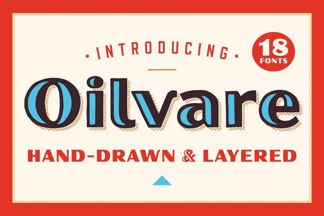 Oilvare 60+ Best Big, Poster Fonts of 2019 design tips