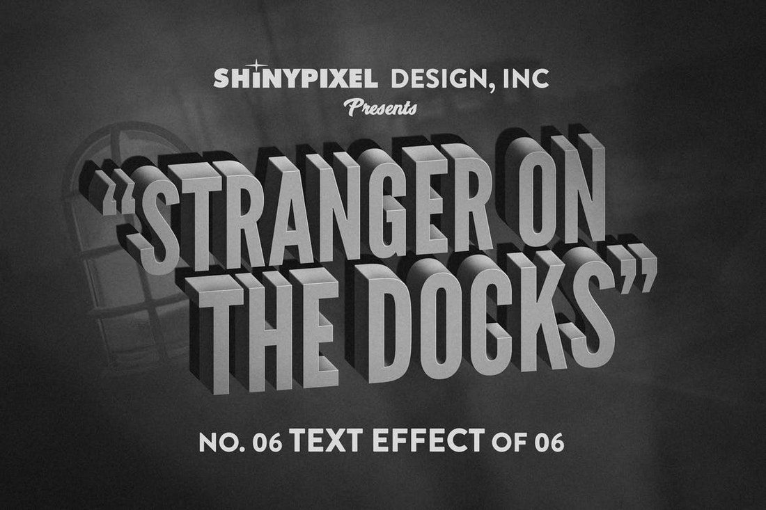 Old-Movie-Title-Text-Effect-6 30+ Best Retro Text Effects & Styles design tips
