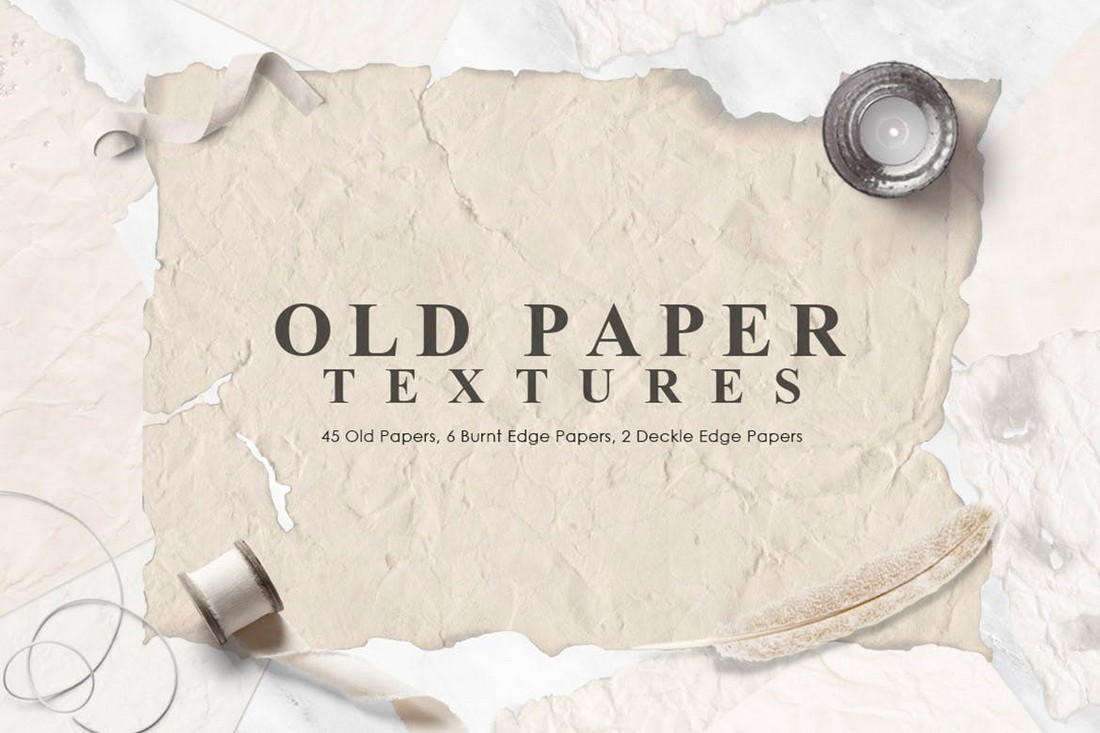Old Vintage Paper Textures Collection