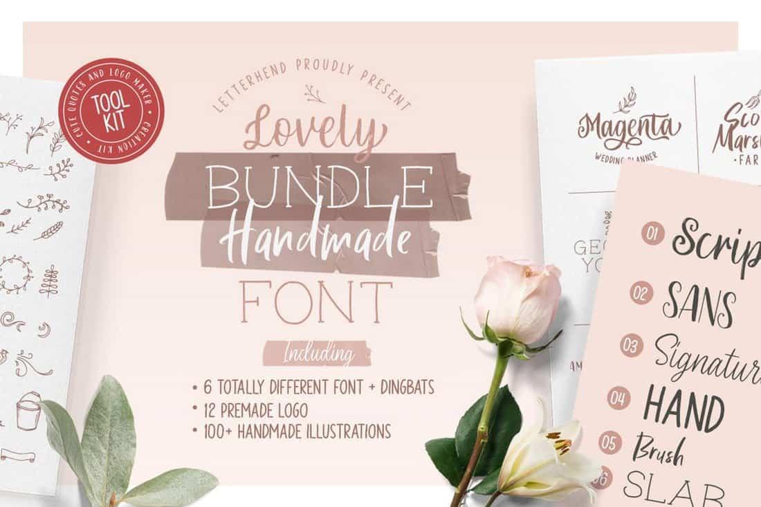 Olive - Handlettering Tool Kit
