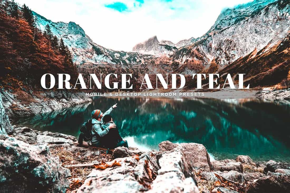 Orange-And-Teal-HDR-Lightroom-Presets 15+ Best HDR Lightroom Presets 2020 design tips  Inspiration