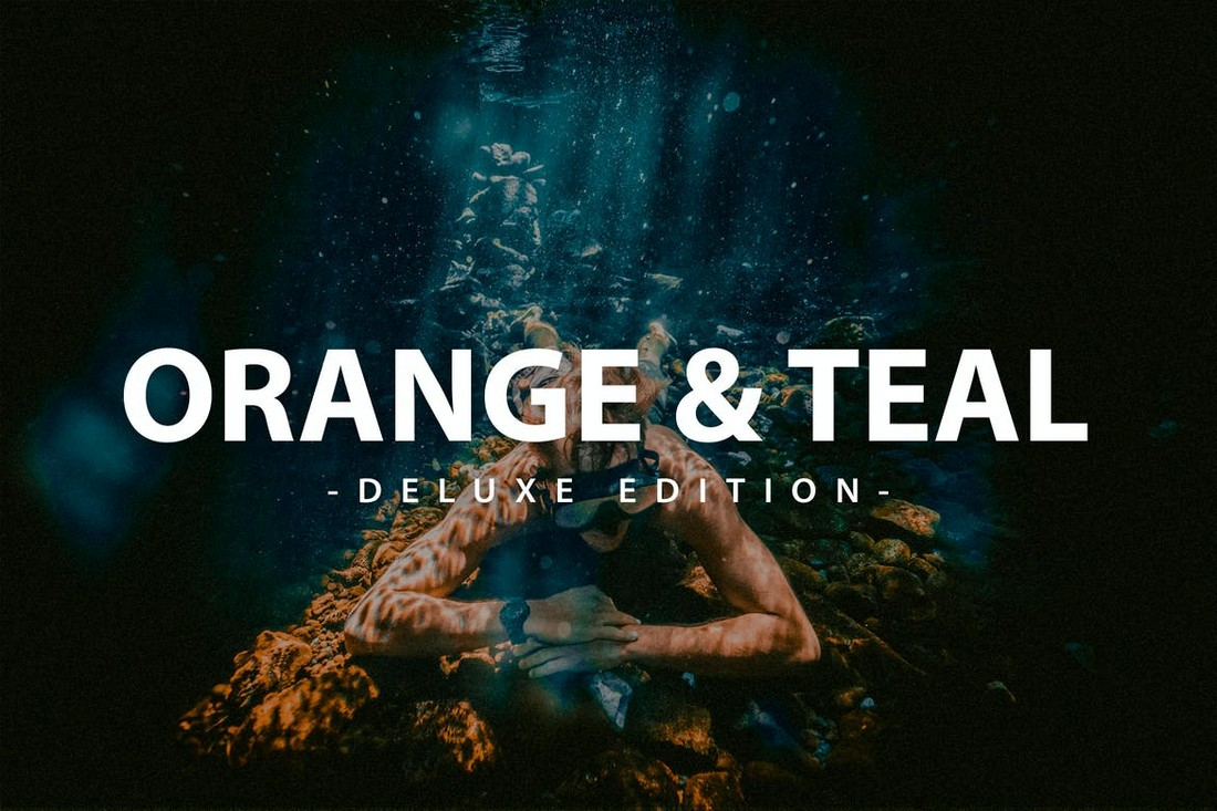 Orange & Teal -Mobile & Desktop Lightroom Presets