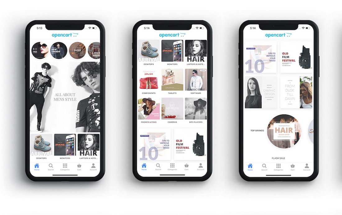 Order-Now-Mobile-App-Template-for-WooCommerce 10+ Best Progressive Web App (PWA) Templates 2020 design tips