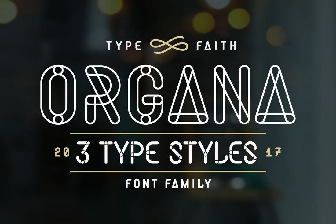 Organa-Caps-Stencil-Font 30+ Best Stencil Fonts design tips