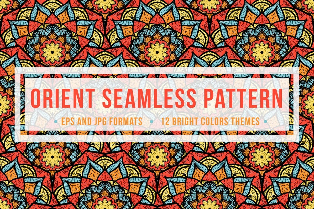 Orient Seamless Patterns