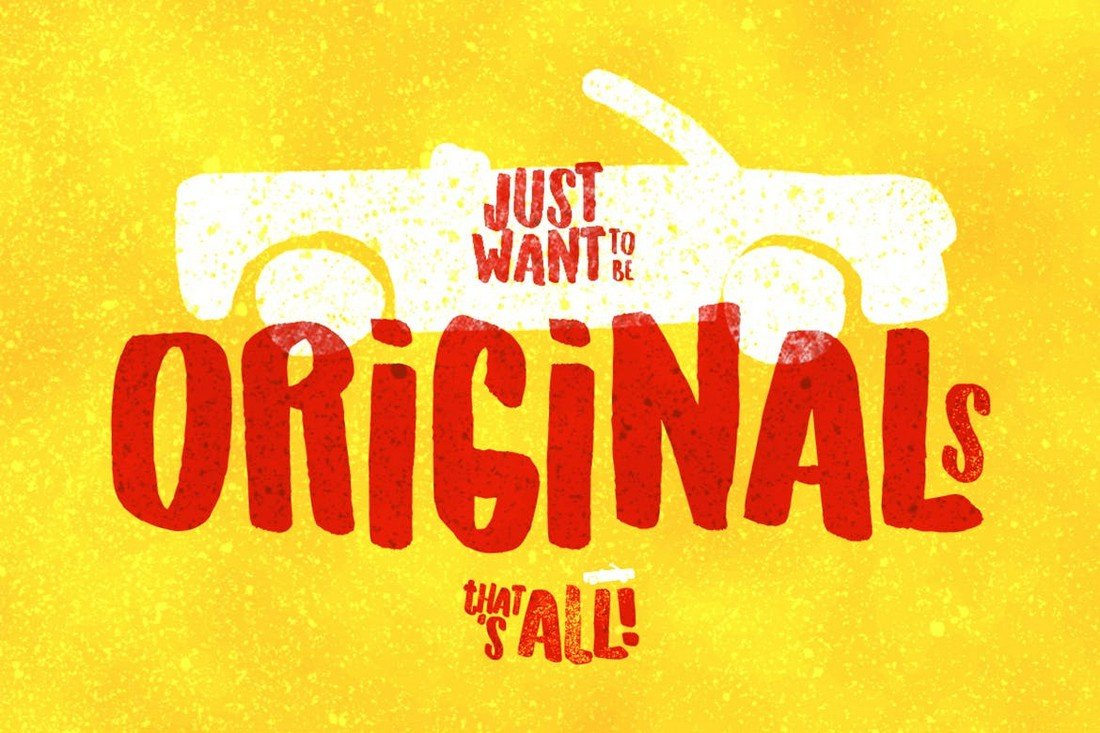 Originals - Decorative Retro Font