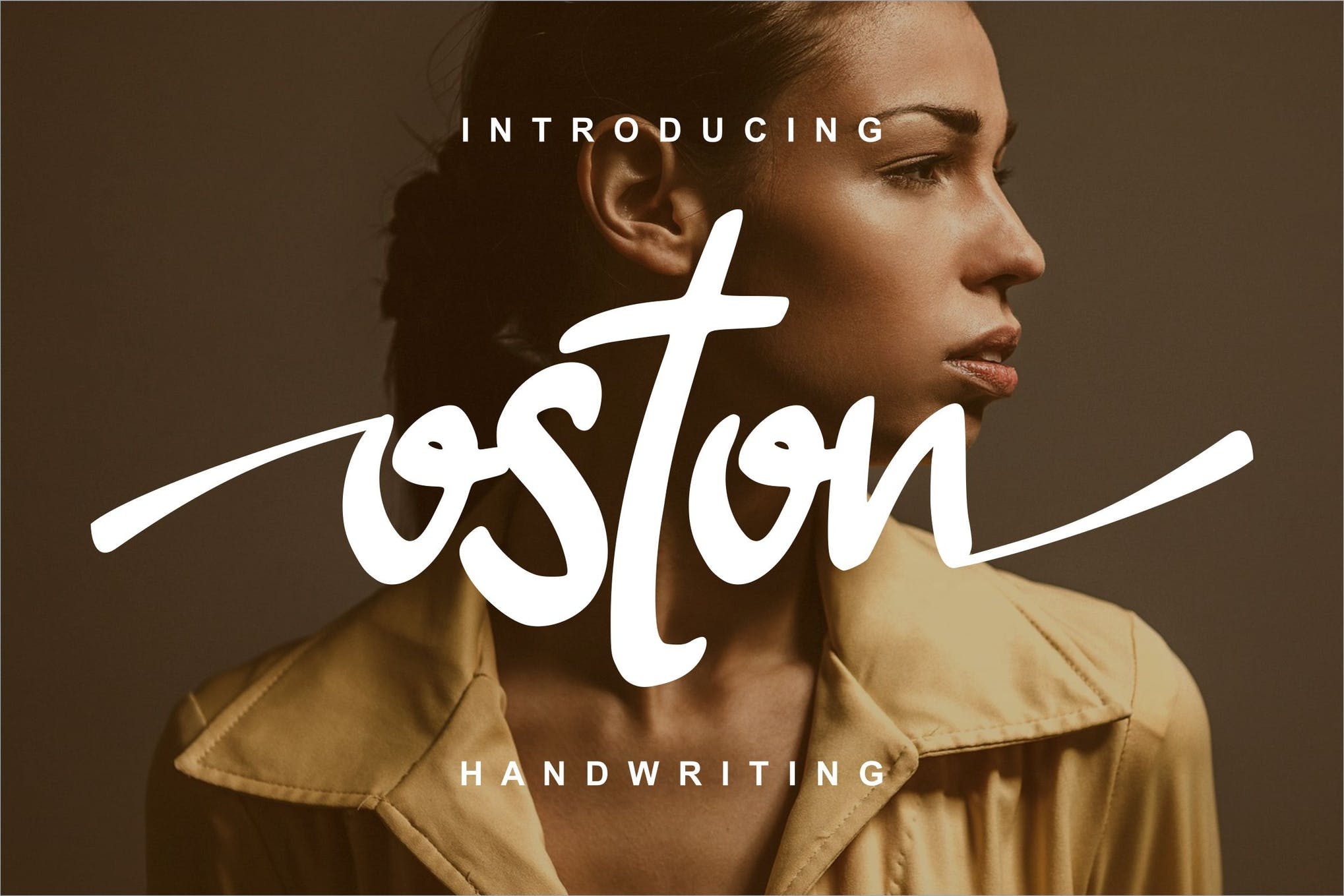 Oston Handwriting font