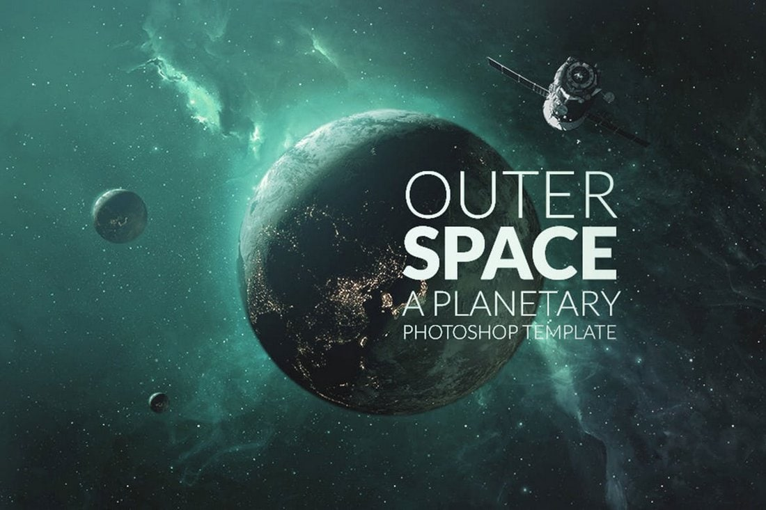 Outer Space Background Scene Creator