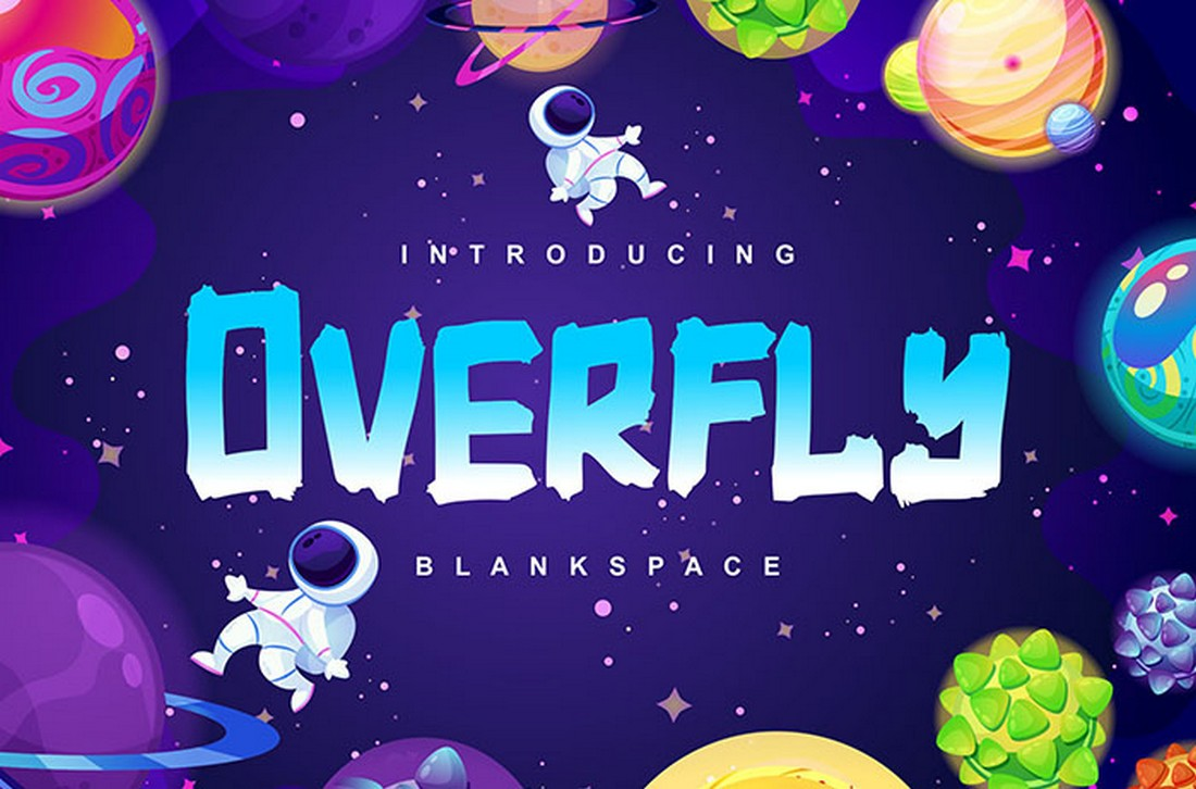 Overfly-Free-Display-Poster-Font 60+ Best Big, Poster Fonts of 2021 design tips