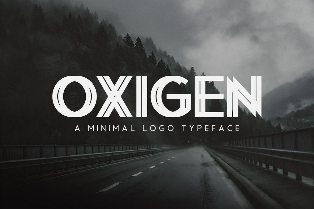 Oxigen-Minimal-Logo-Typeface 30+ Best Fonts for Logo Design design tips
