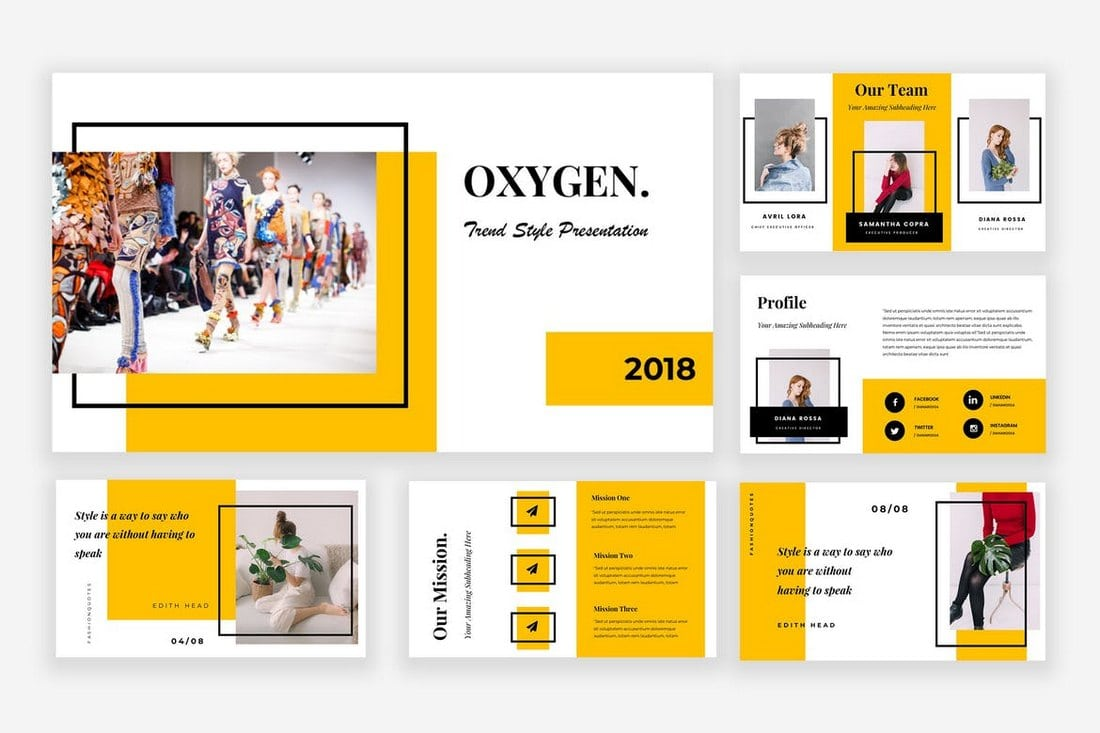 Oxygen-Powerpoint-Presentation 20+ Modern Professional PowerPoint Templates design tips