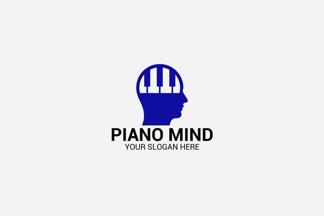 PIANO-MIND 50+ Best Minimal Logo Design Templates design tips