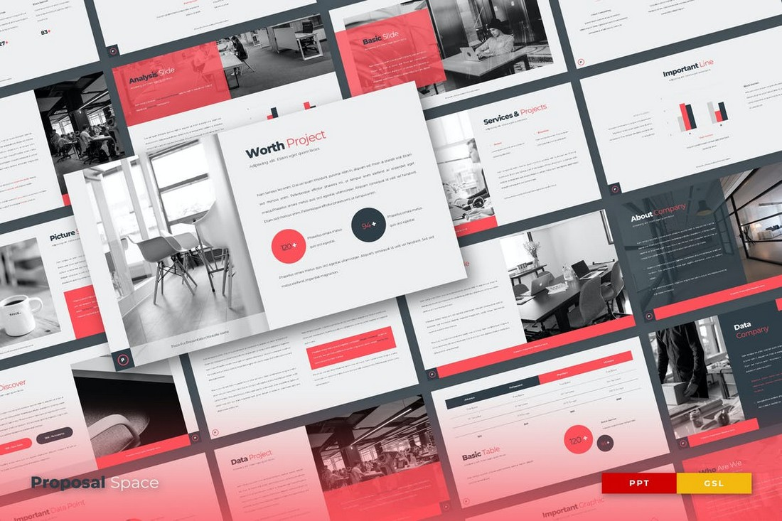 PROPOSAL SPACE - PowerPoint Proposal Template