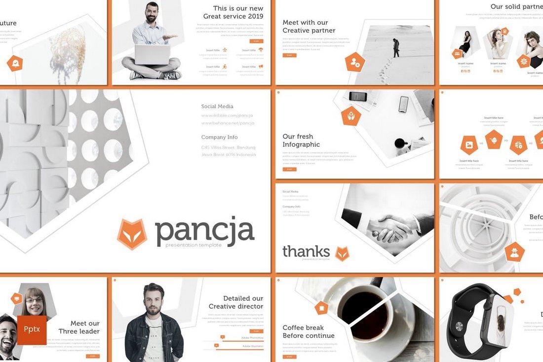 Pancja - Powerpoint Template