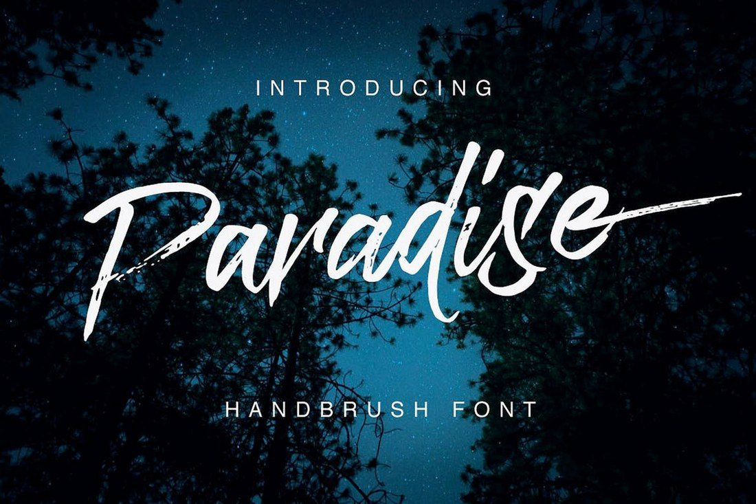 Paradise-Typeface 30+ Best Hand Lettering Fonts design tips